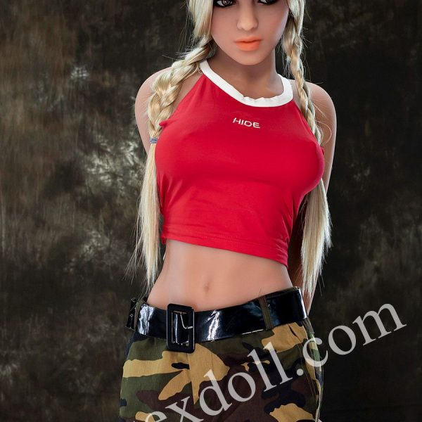 Tpe Full Body Sex Doll In Handsome Camouflage Pants