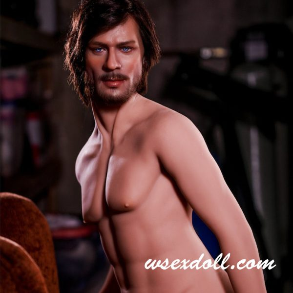 Full Body Realistic Male Mature Solid Anal Sex Dolls