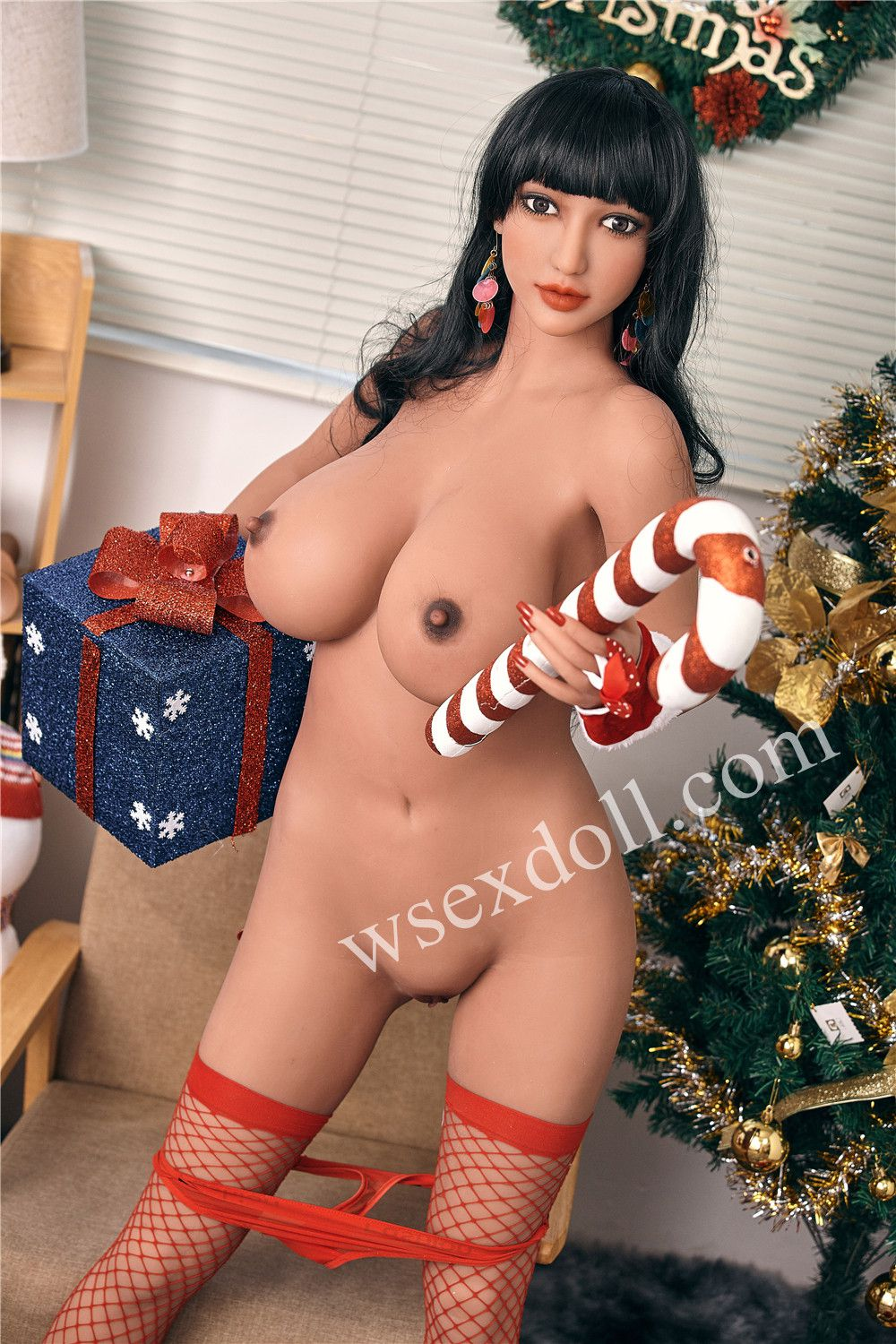 Full Body Christmas Themed Realistic Tpe Sex Doll