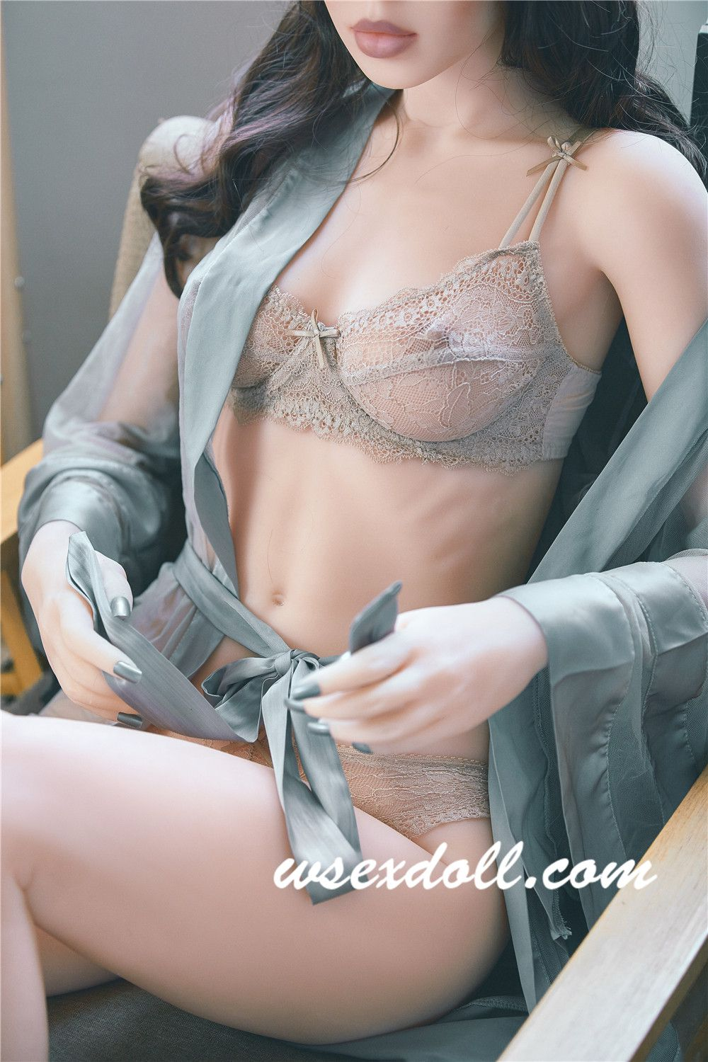 Full Body Sexy Curly Girl Realistic Tpe Sex Doll