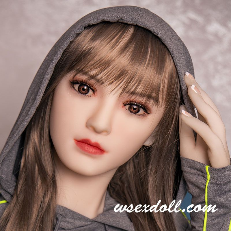 The Silicone Sex Dolls Head Suitable For 140-172cm