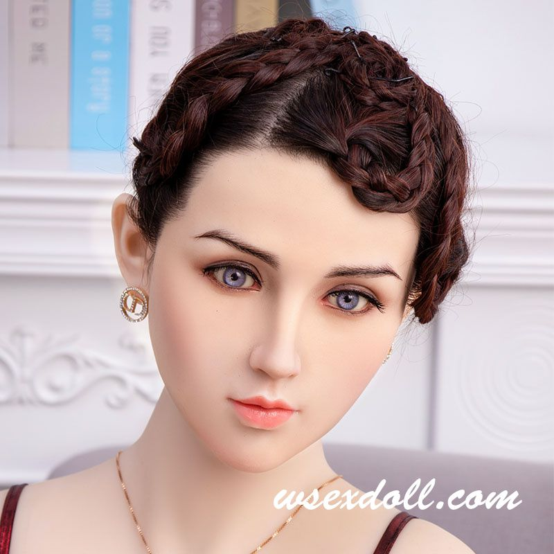 Solid Tpe Sex Doll Head For 140-172cm Doll