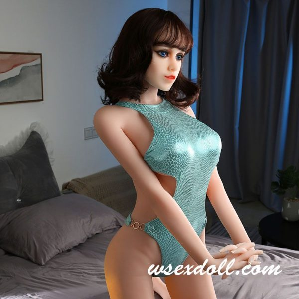 Sexy Turquoise Backless Sex Doll Clothes